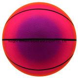 高品質の虹のバスケットボールPVCはおもちゃの球を膨脹させる