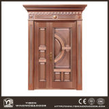 Woodwin Super Quality Simple Style Single Casement Porte en cuivre