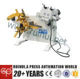 직선기와 가진 중국 공급자 0.3-3.2mm 물자 Uncoiler는 지구 곧게 펴를 만든다