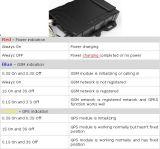 Localização do veículo GPRS / GPS Tracker para motociclo School Bus e a gestão da frota de autocarros Gvt800