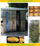 Bandejas de 32 de panadería de gas horno horno giratorio (CE, la fábrica bajo precio).