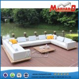 Sofà moderno del salone del tessuto della mobilia del giardino