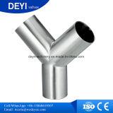 Acessórios para tubos sanitários de aço inoxidável t de soldadura
