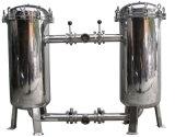 Система фильтра мешка снабжения жилищем нержавеющей стали для фильтрации воды