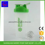 Бутылка воды бутылок трасучки протеина с шариком нержавеющей стали 304