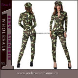 Celebration Army Camouflage Carnival Cop Police Halloween Cosplay Costume (TCLP90510)