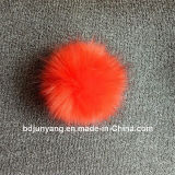 Sfere divertenti della pelliccia sui cappelli di inverno con il Pompom all'ingrosso della pelliccia di Fox