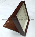Rectángulo al por mayor hecho a mano de madera de encargo maravilloso del rectángulo de joyería