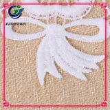 Ворот материала шнурка шнурка картины цветка индийский
