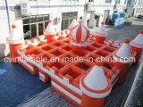 Neuer Entwurfs-aufblasbares Labyrinth, aufblasbares Labyrinth für Verkauf, aufblasbares Labyrinth