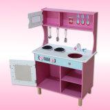 Factory Hot-Sale educativos de madera desempeñar el papel de cocina para niños 3-8 años