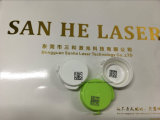 Máquina del grabador del laser de la fibra de la fábrica del laser de Sanhe para el vidrio LCD