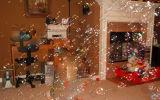 結婚披露宴のイベントのための泡機械