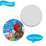 Magnete unico del frigorifero con il vostri propri figura rotonda di stampa di disegno