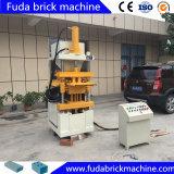 Automatische hydraulische Kleber-Ziegelstein-Maschine des Schlamm-Hby1-10 in Dubai