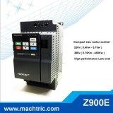 220V AC van de Output van de Enige Fase 0.75kw VFD het Eenvoudige Controlemechanisme van de Motor van de Snelheid