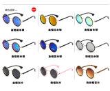 Frauen-Weinlese-runde Marken Eyewear Entwerfer-Sonnenbrillen