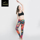 2017 bunte kundenspezifische Druck-Fuß Legging Yoga-Fuss-Hosen