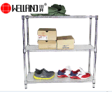 Estante japonés del sostenedor de /Shoe de la cabina del zapato del metal de la calidad DIY