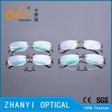 Облегченная Rimless Titanium оптически рамка с шарниром (8510-C2)