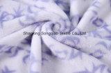Flanela impressa do poliéster/tela coral -15530-2 1# do velo