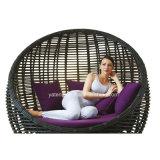 Sofá cama del hotel con canopy Sofá cama al aire libre del salón del jardín