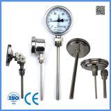 Высокотемпературный аналог биметаллического термометра термометра Wss-401 Industria