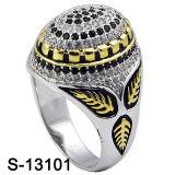 A jóia CZ da prata esterlina da jóia 925 da forma soa para homens