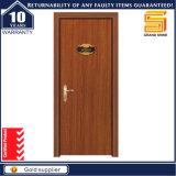 Einfacher Entwurfs-Sicherheit Stahl-MDF-hölzernes Furnier-Blattgepanzerte Tür