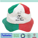 Sombrero impreso bebé común partido del compartimiento del verano del algodón