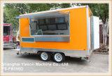Ys-Fb390d 3.9mのガラスによって補強されるパネルのファースト・フードの移動式台所トレーラーのコーヒートラック