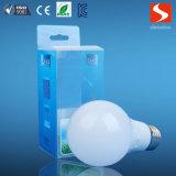 RoHS CE probó bulbo 9W LED de iluminación