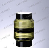 Nova chegada boião de creme de vidro verde para embalagem de cosméticos (PPC-GJ-008)