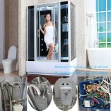 Las funciones Hot-Sale vidrio templado de aleación de aluminio de la sala de vapor (KB-887)
