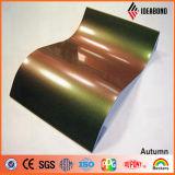 Композиционный материал алюминия спектров нутряного украшения высокого качества Ideabond материальный