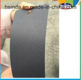 Vonk van Hsinda plakte de Metaal Zwarte Zandige Deklaag van het Poeder van de Textuur