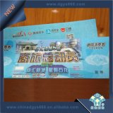 Hot Stamp Hologram Anti-Fake Ticket