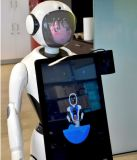 La qualité des robots humanoïdes Alice Plus programmable pour le service