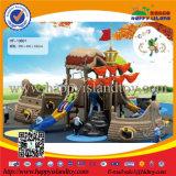 Пластичное или деревянное оборудование спортивной площадки малышей корабля пирата напольное