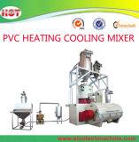 La madera de alta velocidad de enfriamiento calefacción PVC/PE/Mezclador de plástico Máquina/unidad/Grupo/Sistema
