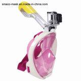 Unterwasseratemgerät-einfache Atemsnorkel-Schablonen-volles Gesichtsnorkel-Schablone