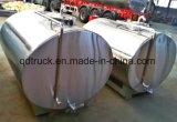 4-30cbm 신선한 우유 유조선, 우유 유조 트럭
