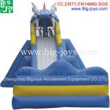販売(BJ-AT12)のための商業巨大で膨脹可能な水スライド