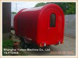 Ys-FT280A 중국에 있는 판매를 위한 최신 판매 체더링 트레일러 음식 트럭