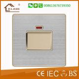 Wand-Schalter der Qualitäts-20A D.P mit Neon