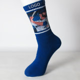 Sublimation-Sport-Stern-Form Printting Socken mit Zoll