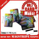 Brouillon bon marché de qualité outre de carte en plastique de cadeau de PVC de panneau