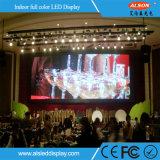 Série video viva do indicador grande do estágio do diodo emissor de luz do tamanho P4 para vender