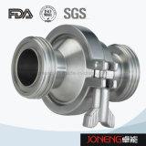 Задерживающий клапан нержавеющей стали санитарный сваренный (JN-NRV1001)