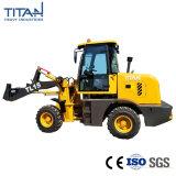 La Chine Titan ZL15f petit tracteur chargeur 1.5Ton chargement frontal Mini chargeuse à roues